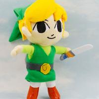 Retail 1 piece Zelda Link Plush toys Free shipping