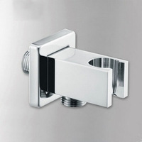 copper concealed hand shower hook seat with shower hose connecter fitted wall mount concealed shower hose