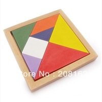 Wooden Tangram Classic Child Toy Educational Toys Jigsaw
