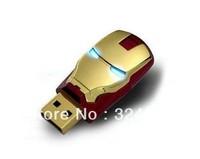 Wholesale Hot Sale Fashion Avengers Iron Man  USB Flash 2.0 Memory Drive Stick Pen