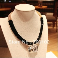 Free Shipping  Luxury super flash crystal Necklaces  Fashion Lady Necklaces Jewelry  Banquet  Party Bestselling