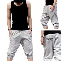 Men's trousers Beach pants  wool Hip-hop casual sports pants  XXXL plus size  Harem Pants