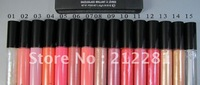Free shipping 2013 Makeup!15 Pcs New 1.92g Lip Gloss!15 Color