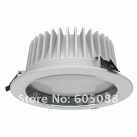"""7"""" 30w recessed led ceiling downlights, AC110/220v traic dimmable,smooth dimming,color white 2220lm,10pcs/lot free shipping!"""
