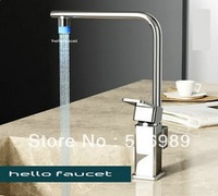 led luxury 3 colors faucet bathroom mixer tap CT9999