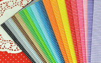 20 MIX COLORs Printed Strip Felt Fabric Polyester DIY felt fabric non-woven 30CM X 30CM