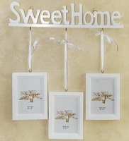 Photo Frame Creative Home Wooden home Wall decoration SweetHome Photo Frame Free shipping