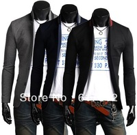 2013 Free Shipping High-quality goods suits for menrecommend collar edge made turn convenient both brought men's  leisure suit