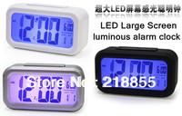 HOT!!! Large Simple Cube Snooze LED Digital Desk Alarm Clock,Alarm Clock,Children Gifts,Creative Clock Design,Clock Night Light
