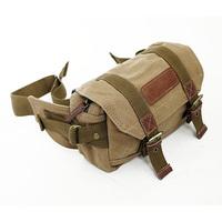 Canvas DSLR SLR Camera Pocket Waist Bag With Inner Tank Bag For Sony Canon Nikon Olympus