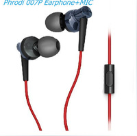 Phrodi Pod-007p 3.5mm InEar Headphones Earphone&Handfree/MIC/Remotes/Pouch Compatibale for iPhone for Smart phone/Tablet/Laptop