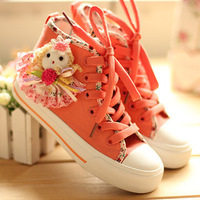 2013 new fashion spring and autumn size 23-35 children shoes for girls classic canvas shoes children sneakers sport shoes
