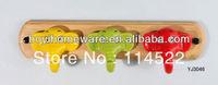new design colored elephants ceramic hooks kids cartoon coat rack clothes hanger towel hook wholesale & retail 18pcs/lot YJ3046