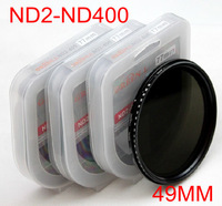 Slim Fader adjustable 49mm ND Filter Variable Neutral Density ND2 to ND400