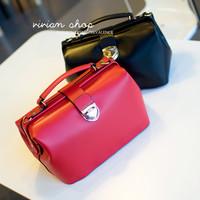 Fashion vintage briefcase 2013 all-match doctors bag one shoulder bride handbag cross-body women's handbag