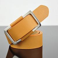 Fashion male 2012 decoration fashion all-match men's wide belt casual white Men belt male strap