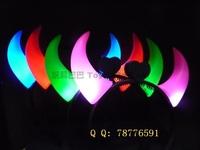 Light-emitting horn lamp flash toys night market props 75g