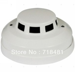 Free shiping Photoelectronic Smoke Fire Detector Four 4 Wire Connection Points Security Sensor for Wired Alarm System wholesale(China (Mainland))
