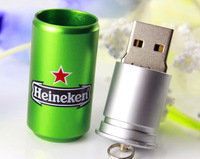 K002  Wholesale Hot Hedy Cans 4GB 8GB 16GB 32GB  USB 2.0 Flash Memory Stick Drive Thum/Car/Pen U Disk Festival free shipping