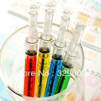 Novelty Syringe Style Ballpoint Pen(Randon Color)