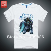 Free shipping Dota t-shirt Lord of Avernus Abaddon summer short-sleeve icefrog PlayDota.com recommend