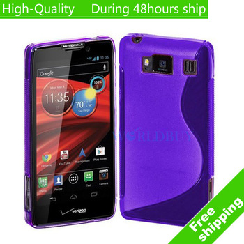 High Quality Soft TPU Gel S line Skin Cover Case For Motorola Droid Razr HD Fighter XT926 Free Shipping DHL EMS HKPAM CPAM FG-3