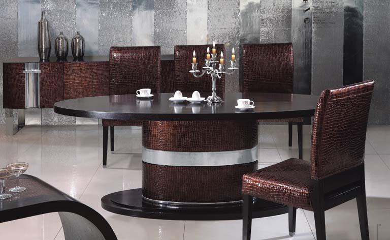 mobilier salle à manger table à manger meubles de maison moderne m003 design italien