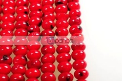 3x4mm Natural Red Coral Flat Loose Beads Strand 15 inch E10009(China (Mainland))
