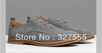 2013 New Arrival Classic Hot sale fashion Lace-up Sneakers Genuine leather Men's Shoes Free shipping