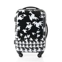 New arrival trolley travel bag universal wheels trolley luggage female fashion 2024 retractable
