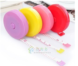 Body cloth tape measure 1.5m+free shipping color random(China (Mainland))