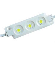 5050 SMD injection type LED module,3pcs 5050 led,warm white,DC12V input