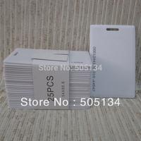 Free Shipping Blank PVC RFID EM4102 EM4100 125Khz Proximity ID Cards 1.9mm Thin Door Control Entry Access Credit Card,10pcs/lot