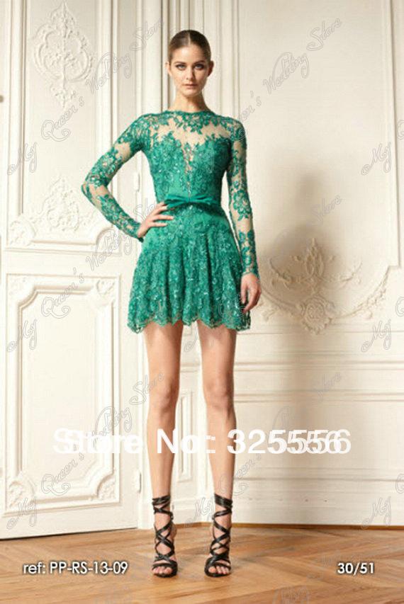 Long Sleeve Prom Dresses 2013