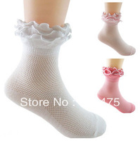 NEW 2013 Free Shipping Baby Girl Socks For Dance Baby Princess Sock Childrens Socks Anti Slip Socks10pair/lot wholesale