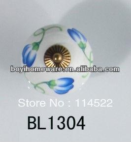 New design pattern ceramic knobs furniture handles knobs wardrobe and cupboard knobs drawer dresser knobs cabinet pulls BL1304