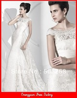 NWD1 high quality fashion style lace wedding dress