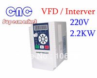 2.2KW 10A 220-250V VARIABLE FREQUENCY DRIVE INVERTER VFD, mini inverter , free shipping