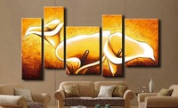 100% Handmade Modern Abstract Oil Painting On Canvas,Wall Art ,Top Home Decoration JYJLV259