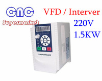 1.5KW 10A 220-250V VARIABLE FREQUENCY DRIVE INVERTER VFD, mini inverter , free shipping