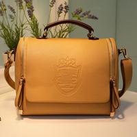 Fashion vintage bag fashion one shoulder women's handbag