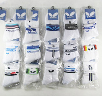 Free shipping. A dozen (12 pairs of) sports' thick socks/Butterfly Table tennis thick socks 25-27CM