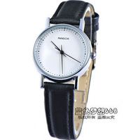 Fashion lady brief strap casual women's watch vintage table student table