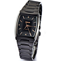 Fashion commercial men's watch male quartz watch tungsten steel fashion vintage table watch