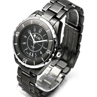 Fashion vintage paint male watches casual mens watch Men watch quartz watch black and white