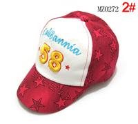 Digital 58 child baseball cap baby cap sunbonnet