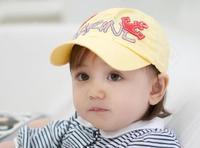 Child spring cap baby hat baby sunbonnet