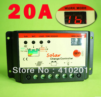 20A, Solar Charge Controller,battery charge controller,Regulator 12V 24V auto switch,free shipping