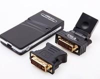 USB 2.0 UGA to DVI VGA HDMI Multi Display Dual Monitor Converter Graphic Adapter Free Shipping