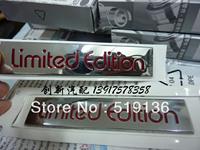 Car Aluminum Discontinuing Memorial Limited Edition Stickers Limited Single Original Volkswagen Emblems Auto Badges
